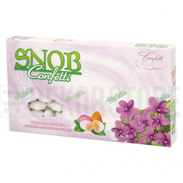 crispo confetti crispo violetta - snob 500 gr