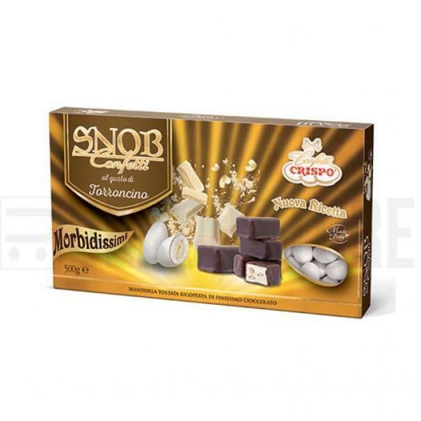 crispo confetti crispo torroncino - snob 500 gr