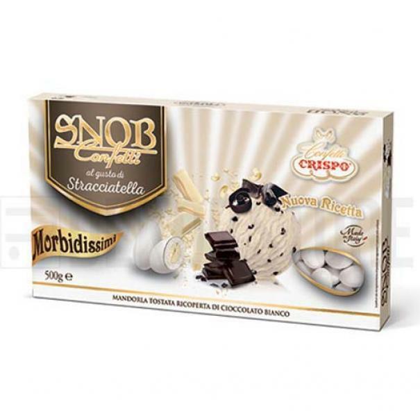 crispo confetti crispo stracciatella - snob 500 gr