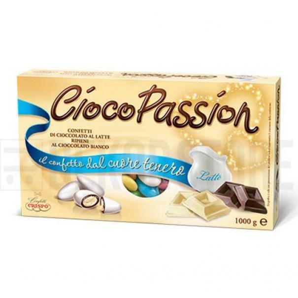 crispo confetti crispo classico colori assortiti  - ciocopassion 1 kg