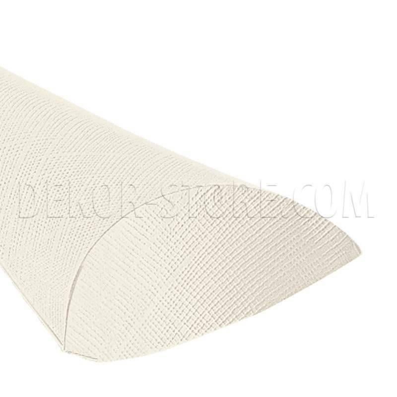 scotton spa cono busta seta bianco 190 mm - 10 pz