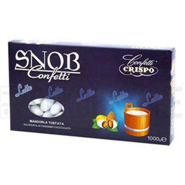 crispo confetti crispo latte - colore bianco snob 1 kg