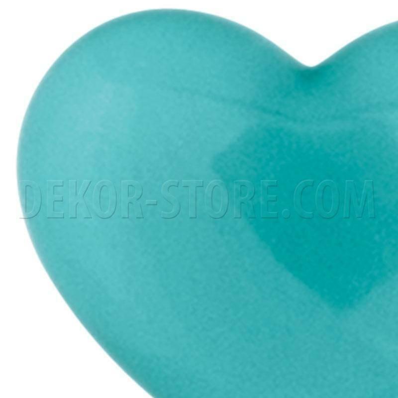scotton spa scotton spa cuore azzurro in resina - 18 x 15 mm