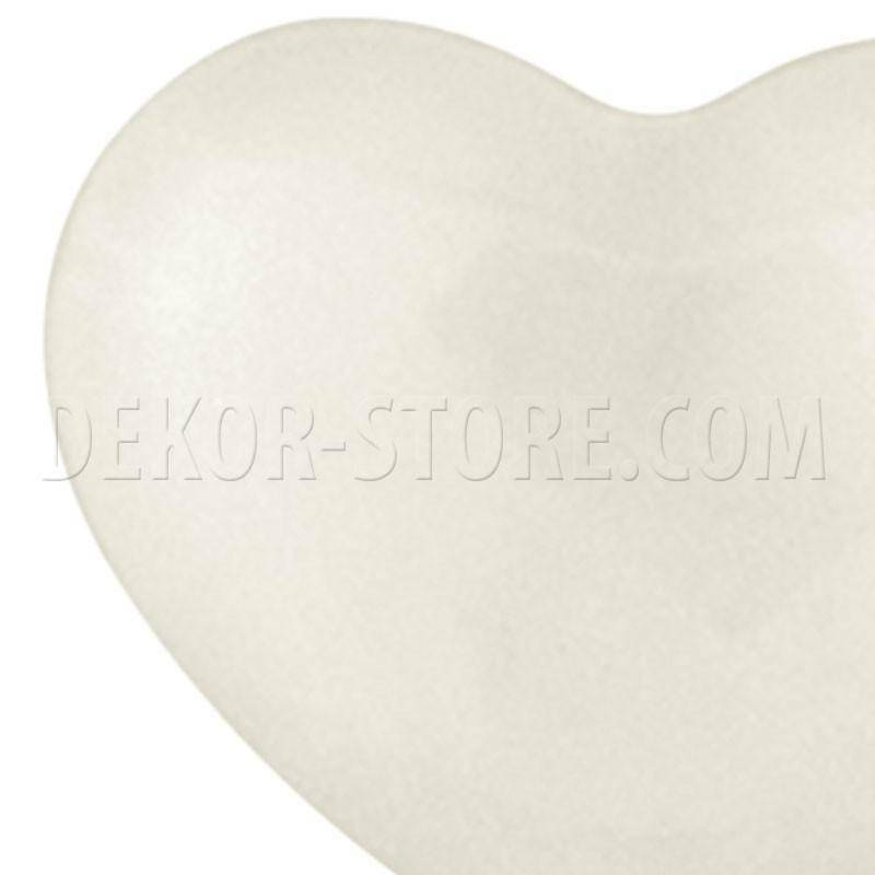 scotton spa scotton spa cuore avorio in resina - 23 x 25 mm