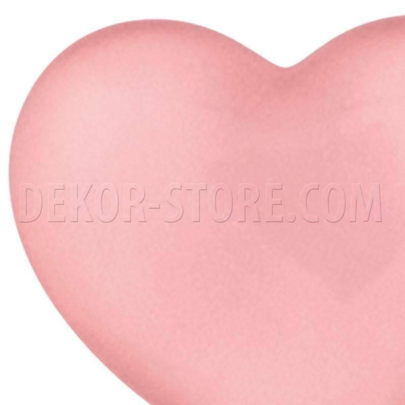 scotton spa scotton spa cuore rosa in resina - 23 x 25 mm