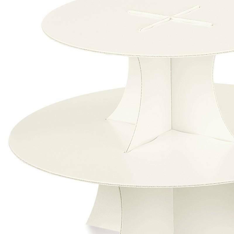 scotton spa alzata in cartoncino perlato 2 piani - 330x200 mm