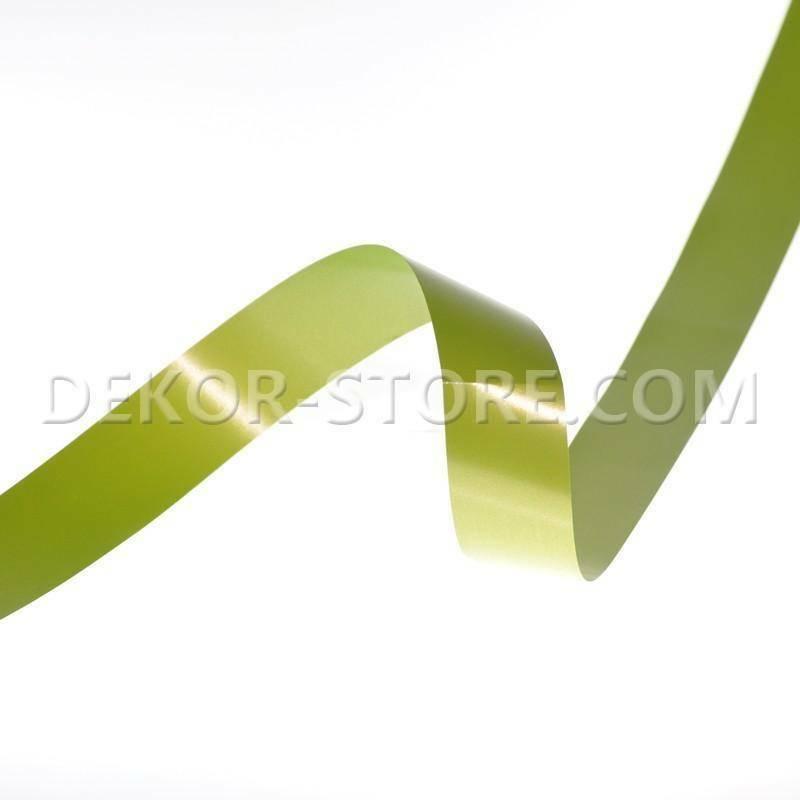 nastro splendene verde muschio 30 mm x 100 mt -