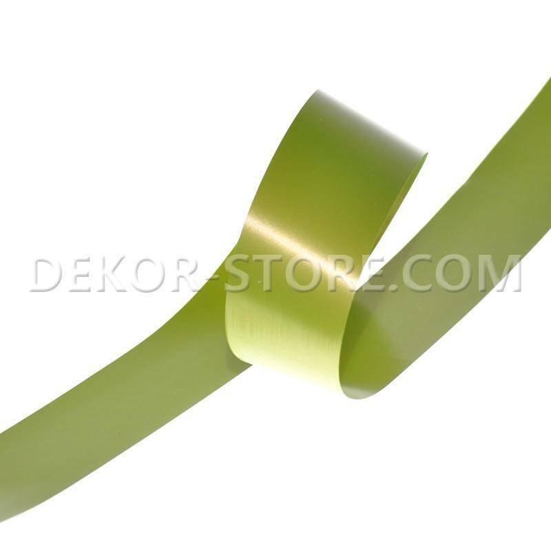 nastro propilene verde muschio 48 mm x 100 mt -