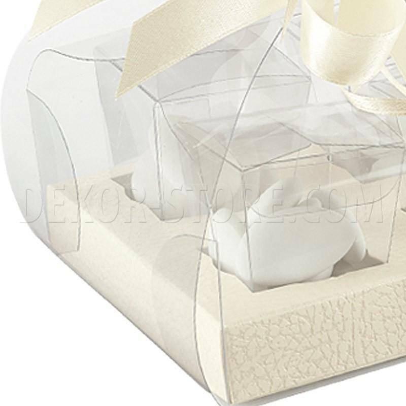 scotton spa scotton spa tortina 185x120x80 mm con 6 contenitori pvc - pelle bianco