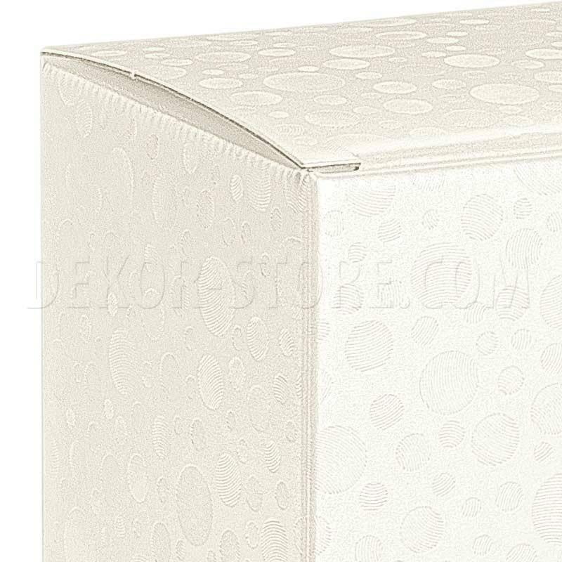 scotton spa scotton spa scatola 1 bottiglia 90x90x340 mm bordolese - sfere bianco