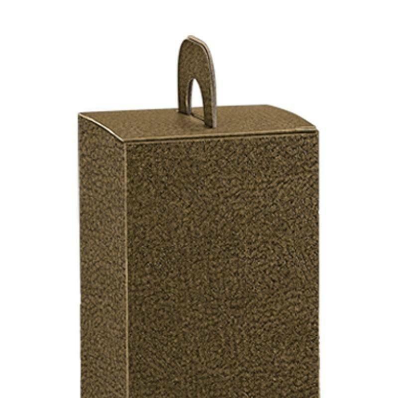 scotton spa scotton spa valigia 1 bottiglia con maniglia - pelle marrone