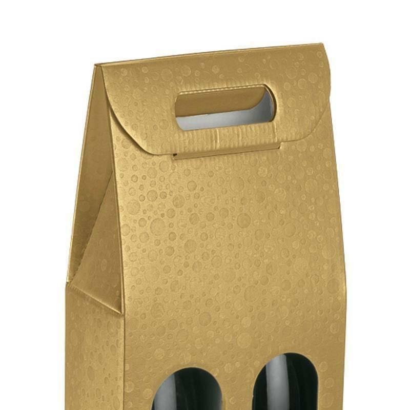 scotton spa scotton spa scatola 2 bottiglie 180x90x385 mm - sfere oro