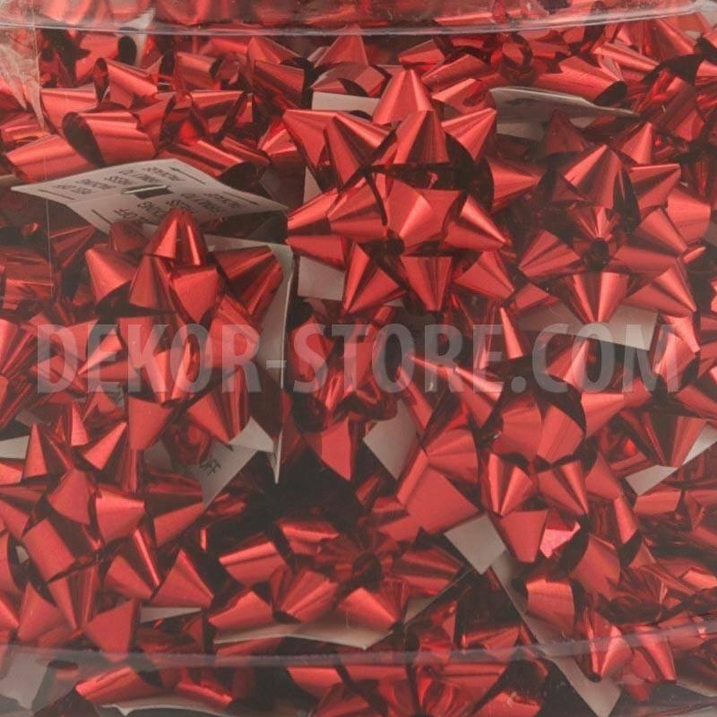 bolis stella micro nastro mirror 5 mm rosso - 100 pz