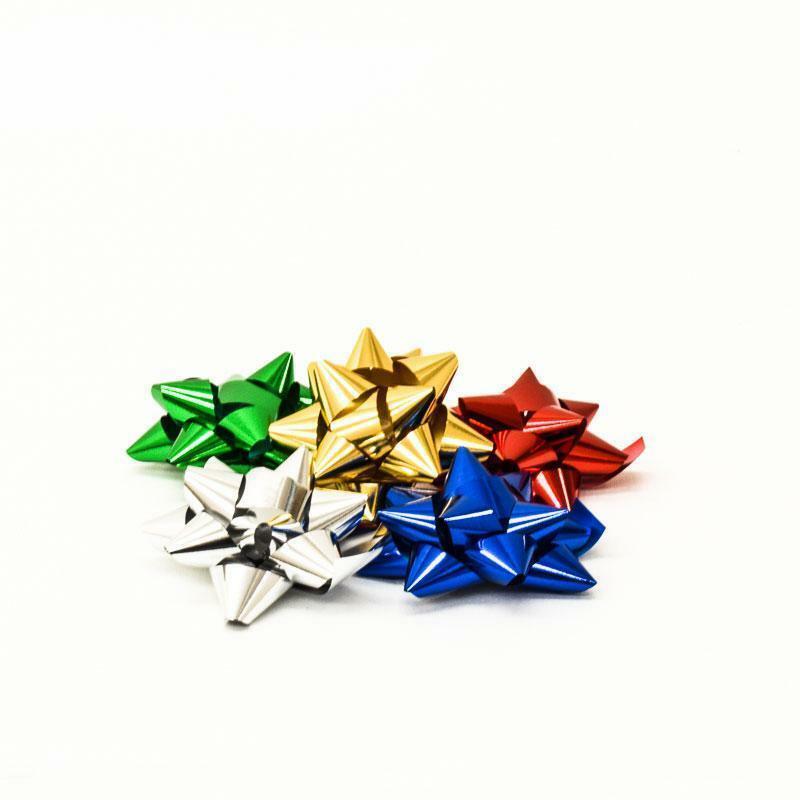 bolis stella nastro reflex 19 mm argento - 25 pz