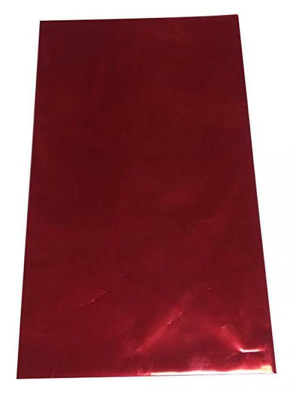 buste metallizzate soft bordeaux 25 x 40 cm - 50 pz