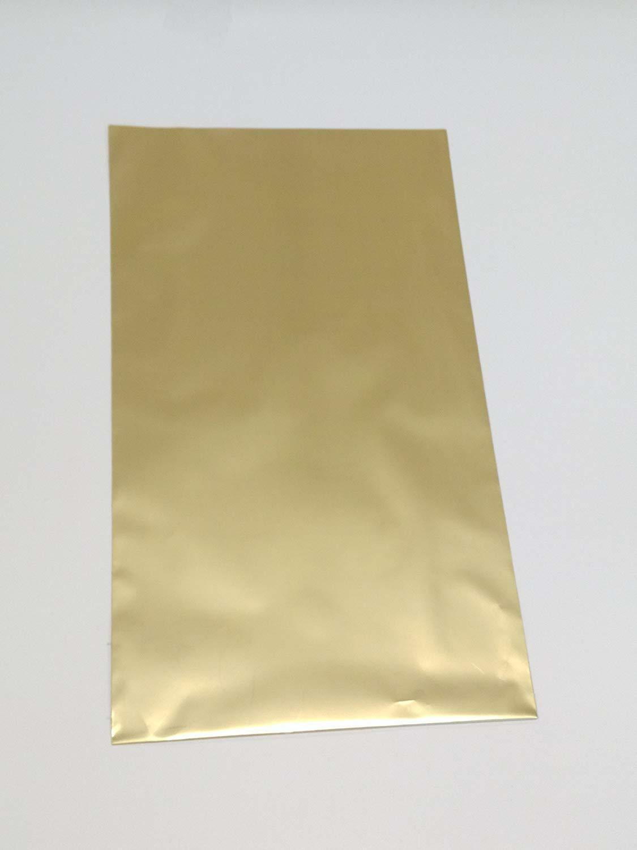 buste metallizzate soft oro antico 15 x 25 cm - 50 pz