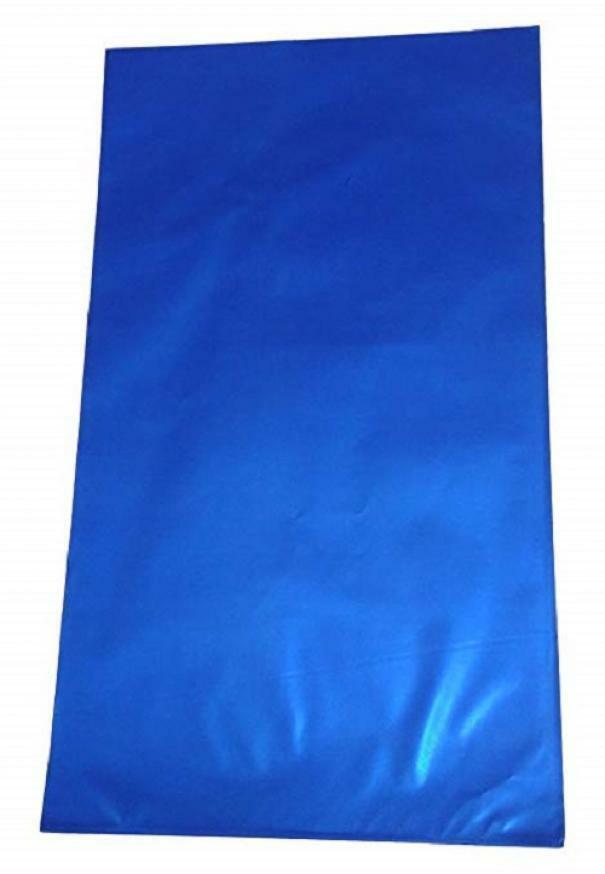 buste metallizzate soft blu 15 x 25 cm - 50 pz