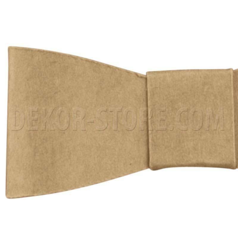 scotton spa scotton spa fiocchetto chiudipacco (cf.6 pz ) 75x30mm cartoncino avana