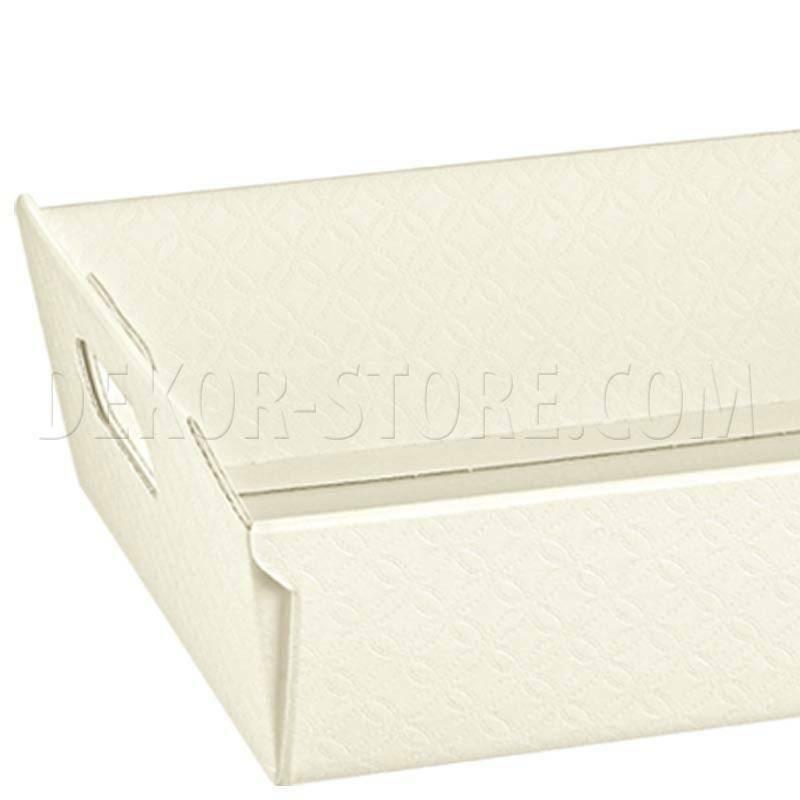 scotton spa scotton spa cesto 400x300x120 mm - matelasse bianco