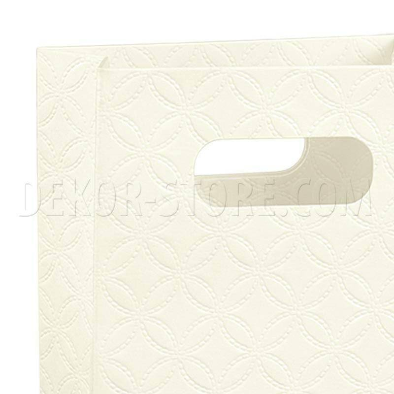 scotton spa scotton spa shopper box 130x70x180 mm - matelasse bianco