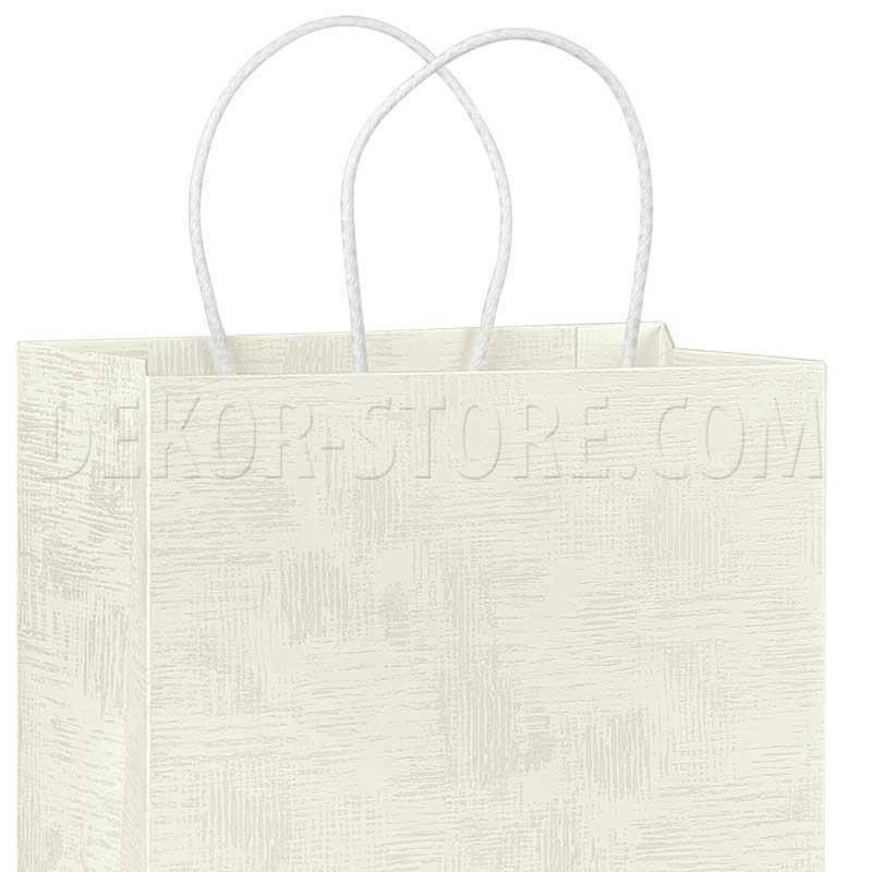 scotton spa scotton spa shopper cordino 350x130x430mm - tela bianco