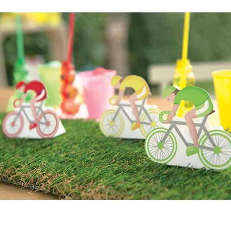 scotton spa scotton spa scatola 60x35x85 mm in cartoncino a forma di bicicletta festa