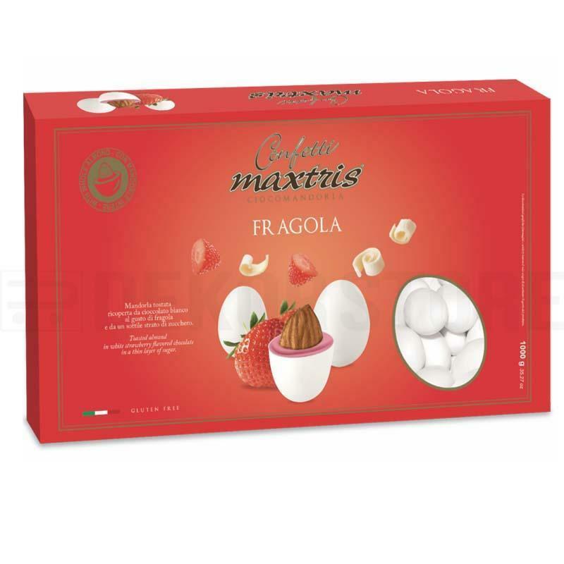 maxtris confetti maxtris fragola - 1 kg