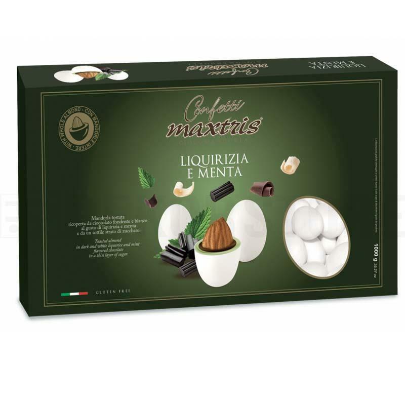 maxtris confetti maxtris liquirizia e menta - 1 kg