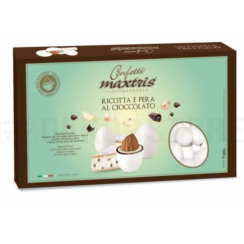 maxtris confetti maxtris ricotta e pera al cioccolato - 1 kg