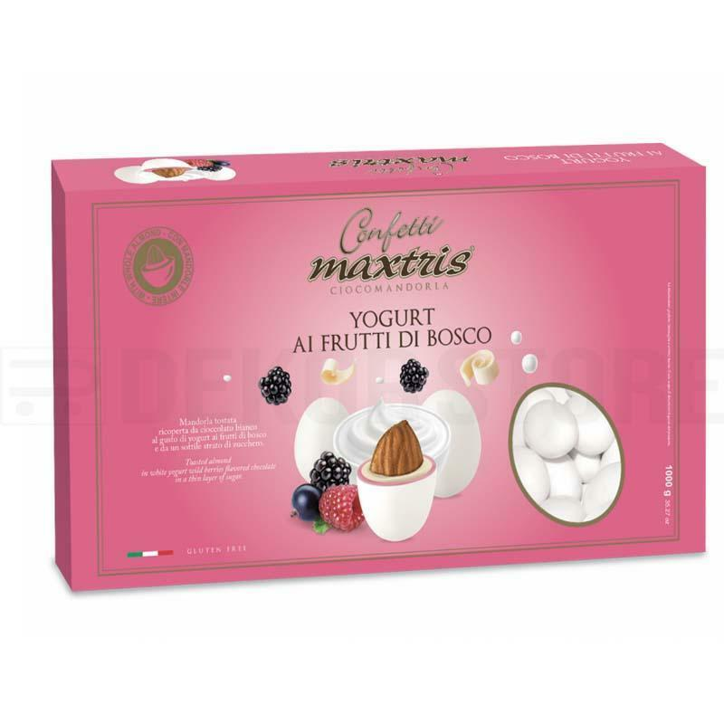maxtris confetti maxtris yogurt ai frutti di bosco - 1 kg