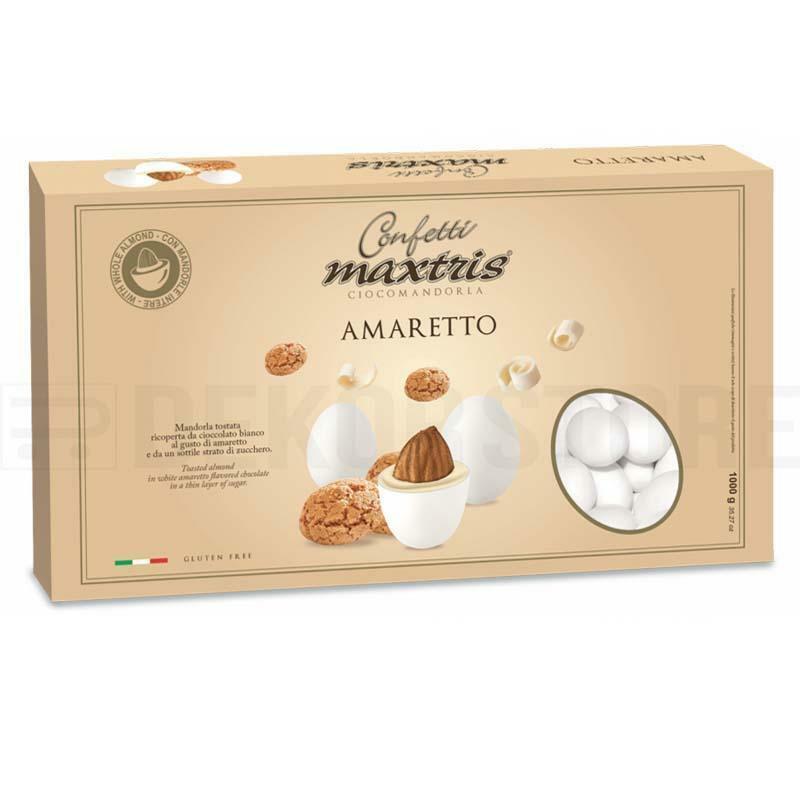 maxtris confetti maxtris amaretto - 1 kg