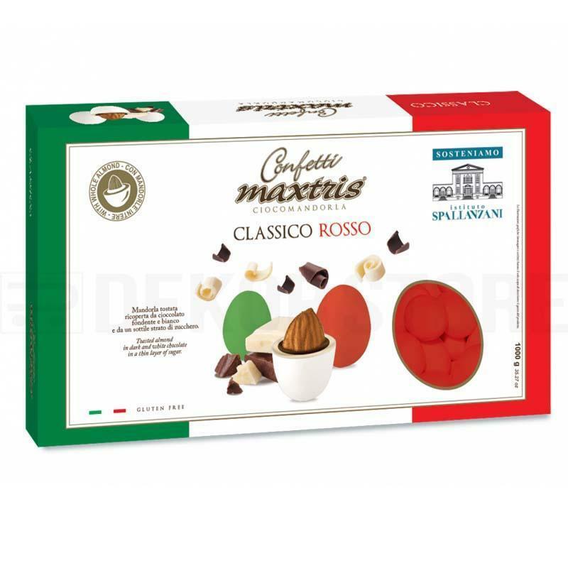 maxtris confetti maxtris classico rosso - 1 kg