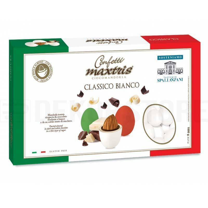 maxtris confetti maxtris classico bianco - 1 kg
