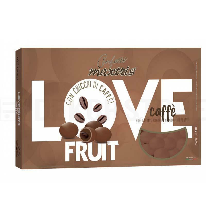 maxtris confetti maxtris love fruit caffè - 1 kg