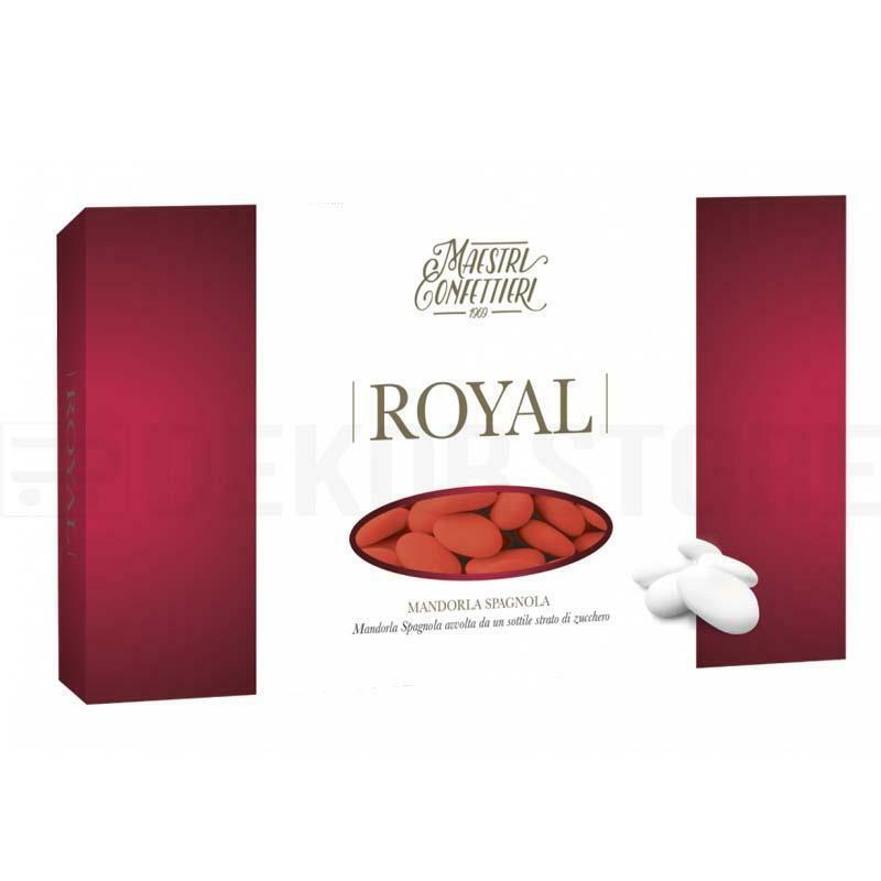 maxtris maxtris confetti mandorle spagnole 40 - royal rosso (300pz)