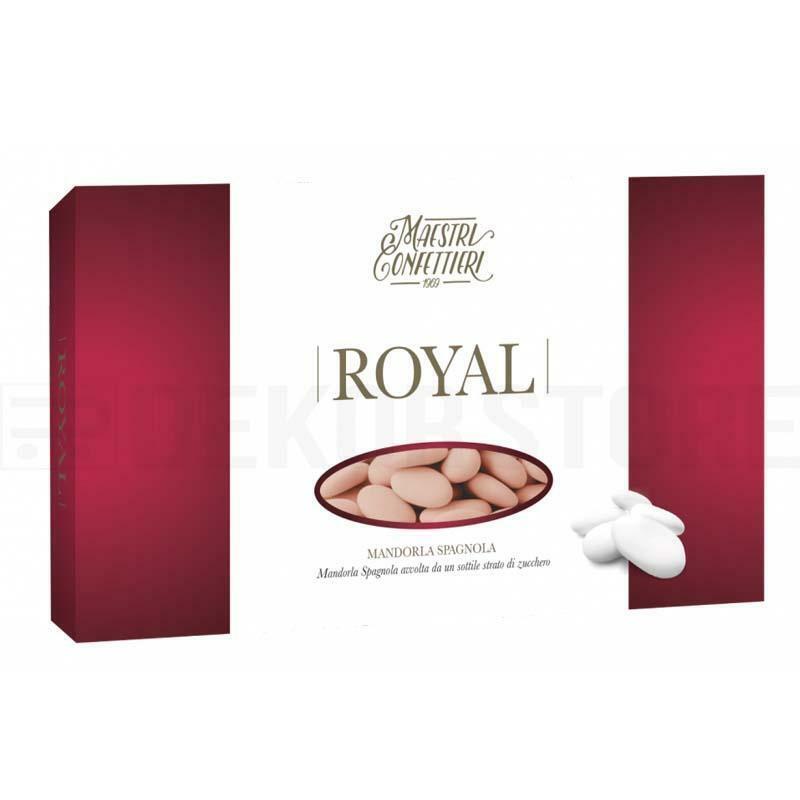 maxtris maxtris confetti mandorle spagnole 40 - royal rosa (300pz)
