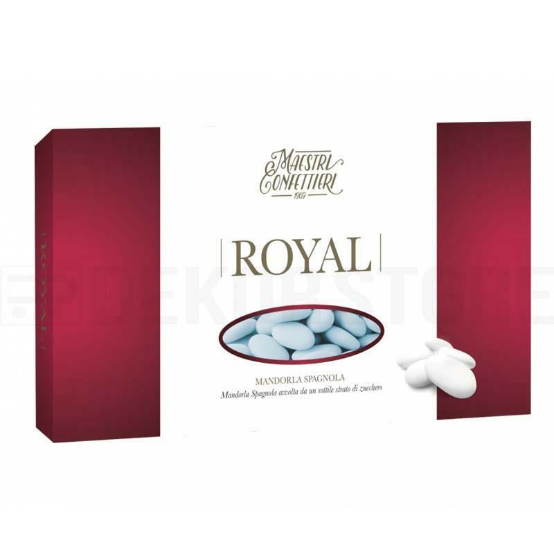 maxtris maxtris confetti mandorle spagnole 40 - royal celeste (300pz)