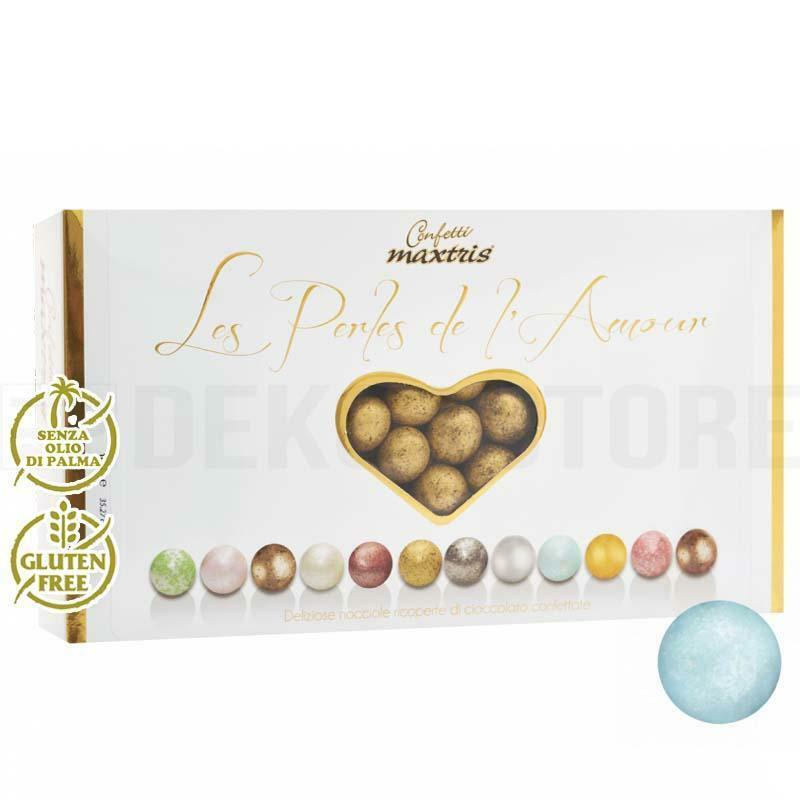maxtris confetti maxtris les perles de l'amour ete' - celeste perlato 1 kg