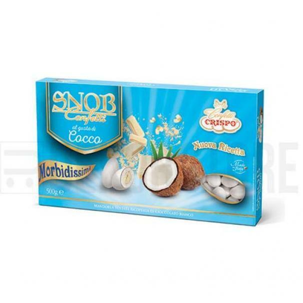 crispo confetti crispo cocco - snob 500 gr