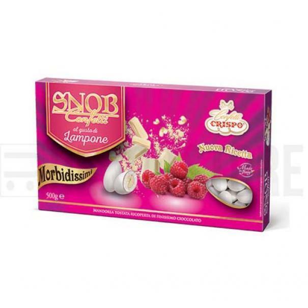 crispo confetti crispo lampone - snob 500 gr
