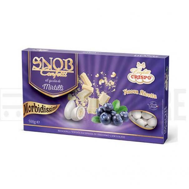 crispo confetti crispo mirtilli - snob 500 gr