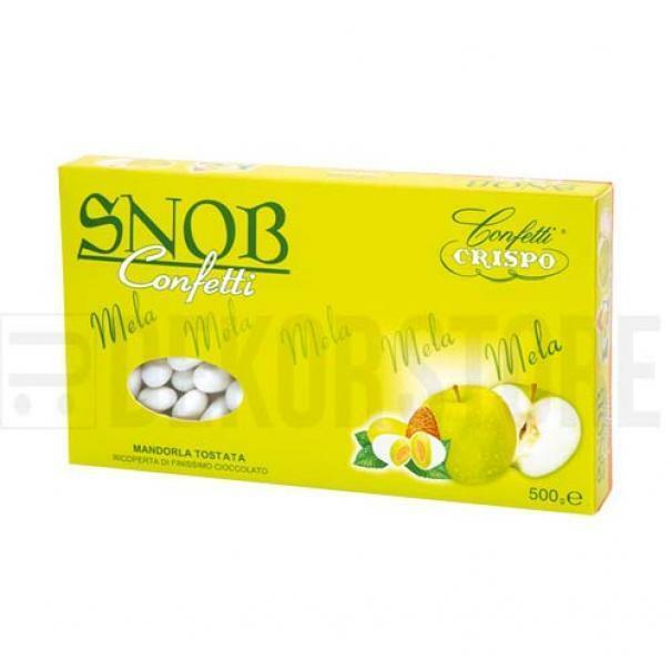 crispo confetti crispo mela - snob 500 gr