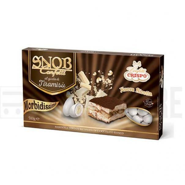 crispo confetti crispo tiramisu - snob 500 gr