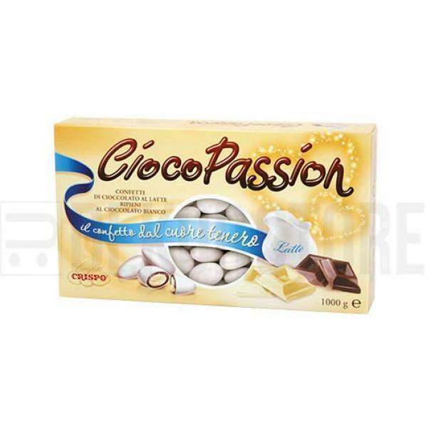 crispo confetti crispo classico bianco - ciocopassion 1 kg