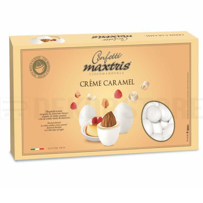 maxtris confetti maxtris creme caramel - 1 kg