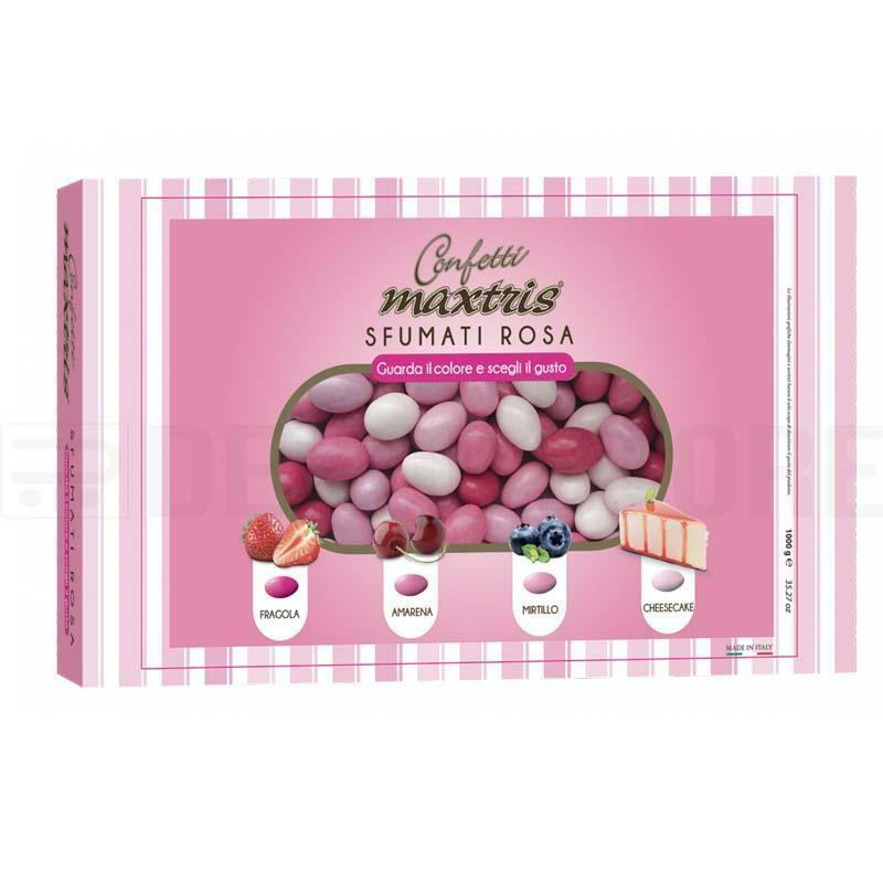 maxtris confetti maxtris sfumati rosa - 1 kg