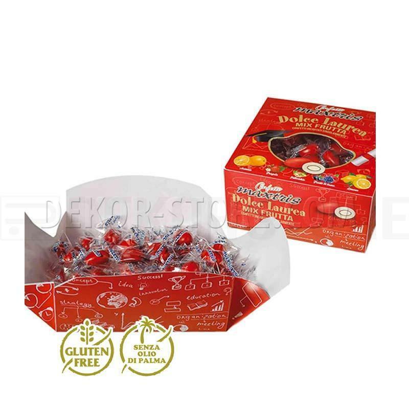 maxtris maxtris dolce laurea mix frutta vassoio - confetti  500gr