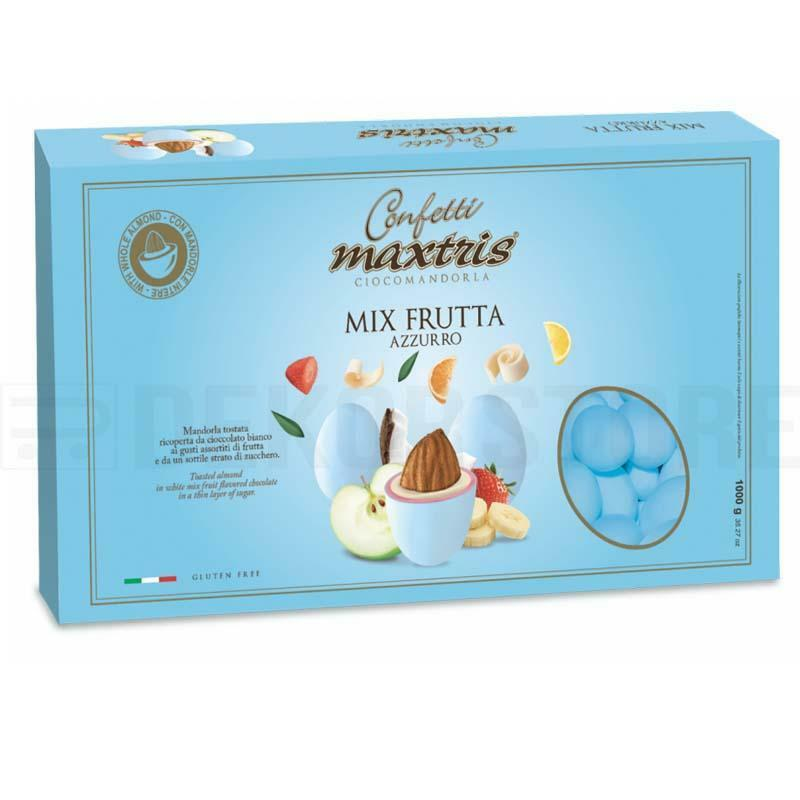 maxtris confetti maxtris frutta azzurro - 1 kg