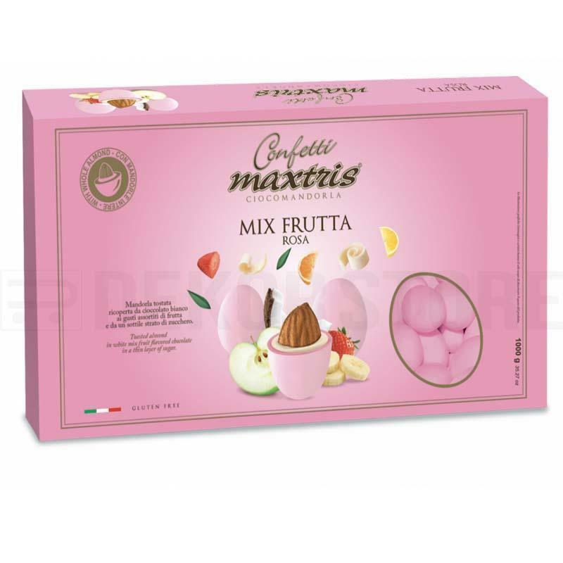 maxtris confetti maxtris frutta rosa - 1 kg