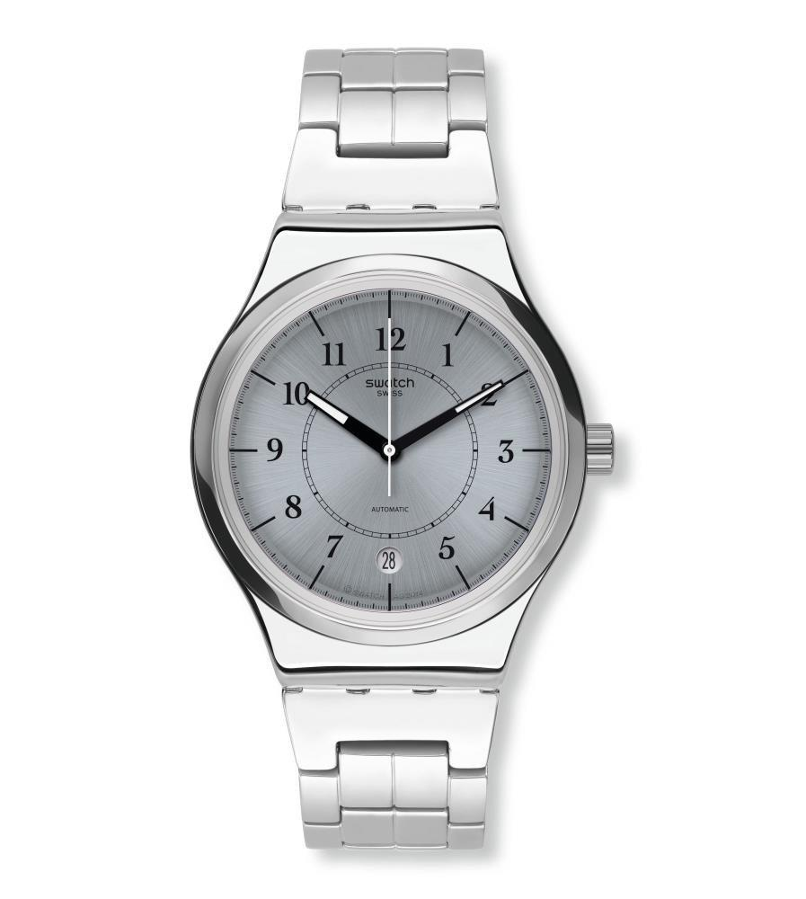 the swatch group orologio unisex acciaio automatico solo tempo the swatch